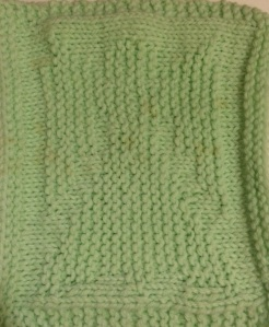 One of my designs of my dishcloths